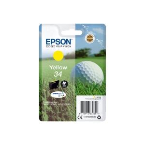 Epson 34 DURAbrite Ultra Ink (C13T34644010) inkt cartridge, geel