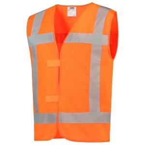 Tricorp V-RWS hi-viz waistcoat orange - size XL/XXL