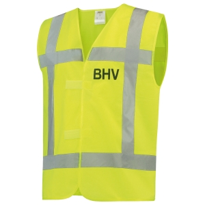 Tricorp V-RWS-BHV hi-viz gilet geel - maat M/L