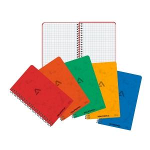 Aurora spiraal notitieboekje 80x135mm geruit 5x5mm 50 vellen