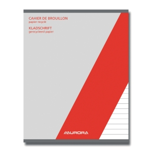 Aurora recycled rough-copybook A5 ruled 100 pagegs