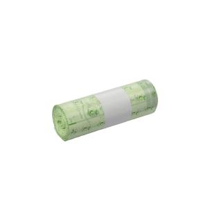 Vuilniszak bio-afbreekbaar Ecovio voor pedaalemmer 43x50cm of  15l - rol van 50