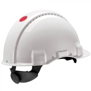 3M G3000 Nuv-Vi veiligheidshelm wit