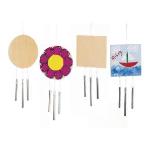 Colorations houten windgongen - pak van 12
