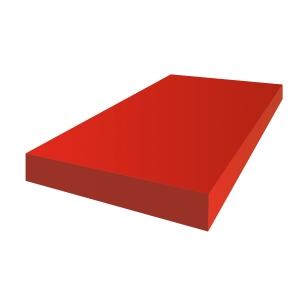 Tekenpapier A3 120 gr rood - pak van 100
