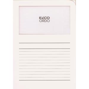 Elco 420514 Ordo L-mapjes met venster wit - doos van 100