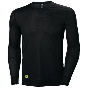 Helly Hansen Lifa thermische shirt met lange mouwen, zwart, maat 3XL, per stuk