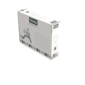 Lyreco Budget archiefdozen voor listings 26x34xrug 8cm - pak van 25
