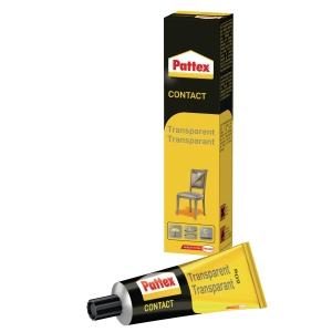 Pattex contactlijm transparant tube 50 g