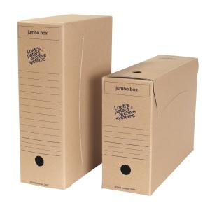 Loeff s Patent Jumbobox archiefdoos folio karton 900g -pak van 25,5x37x11,5cm