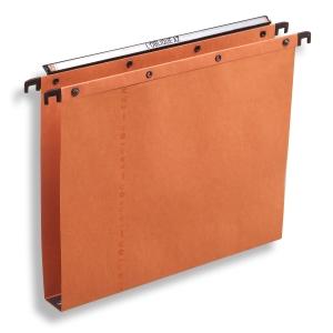 Elba AZO Ultimate hangmappen laden 30mm 330/250 oranje - doos van 25