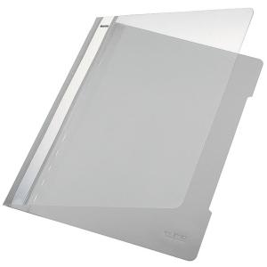 Leitz 4191 snelhechtmap A4 PVC grijs
