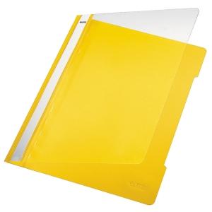 Leitz snelhechtmap, A4, PVC, geel