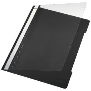 Leitz 4191 snelhechtmap A4 PVC zwart
