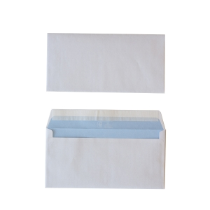 Standard envelopes 114x229mm peel and seal 80g - box of 500