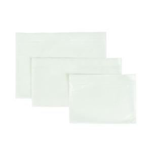 Zelfklevende paklijsthoesjes 175x115mm onbedrukt - doos van 1000