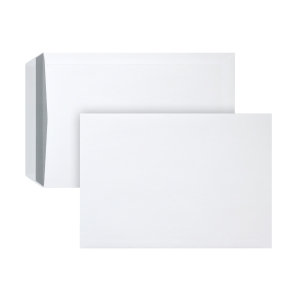 Bags 229x324mm gummed 120g extra white - box of 250