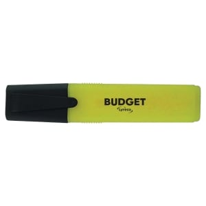 lyreco budget highlighters - yellow