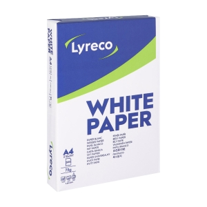 Lyreco multifunctional paper A4 75g - 1 box = 5 reams of 500 sheets