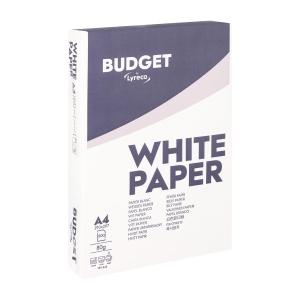 Lyreco Budget wit papier A4 80g - 1 doos = 5 pakken van 500 vellen
