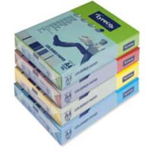 Lyreco gekleurd papier A4 80g zonnegeel - pak van 500 vellen