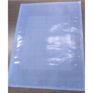 Zelfklevende hoes pvc met afsnijdbare rand 305x220 - doos van 50