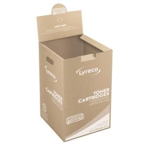 Lyreco laser cartridge recycling box
