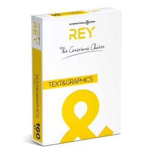 Rey Text & Graphics white paper A4 160g - pack of 250 sheets