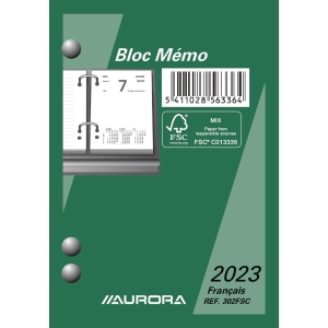 Memobloc Belux French version