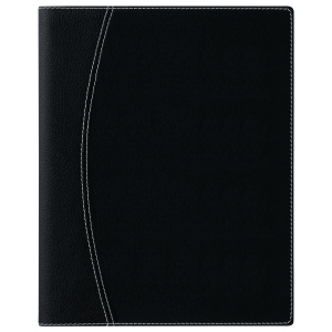 Brepols Timing 136 desk diary with Ferrara cover black
