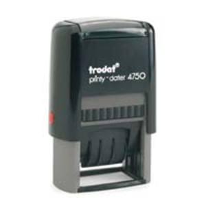 Trodat Printy 4750/L datumstempel NL,  Ontvangen op , niet personaliseerbaar