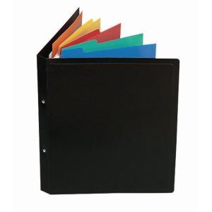 Verticale inlegbladen voor hangmappen PP assorti - pak van 5