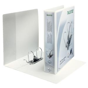 Leitz 4225 ringband personaliseerbaar 2-rings U180 75mm rug 86mm A4 Maxi wit