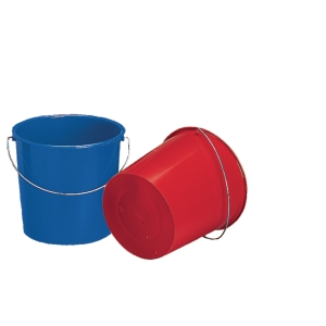 Bucket 10 l assorted colours
