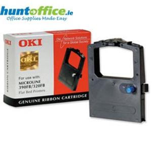OKI Flatbed 320/390 (9002310 ) druklint voor matrixprinters, zwart