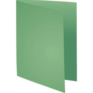 Exacompta Foldyne vouwmappen karton 180g groen - pak van 100