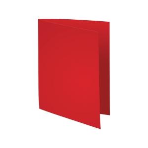 Exacompta Foldyne vouwmappen karton 180g rood - pak van 100