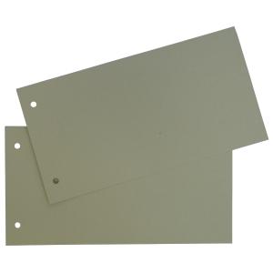 Lyreco Premium scheidingsstroken rechthoekig karton 250g chamois - pak van 250