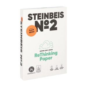 Steinbeis TrendWhite recycled paper A4 80g - 1 box = 5 reams of 500 sheets