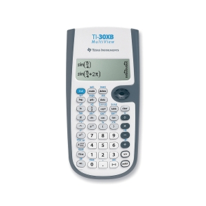 TI-30XB Multiview scientific calculator - 4 linesx16 characters