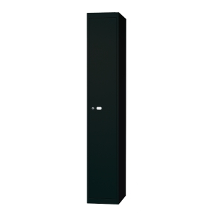 Bisley locker with 1 compartment 30,5x180,2x45,7 cm black