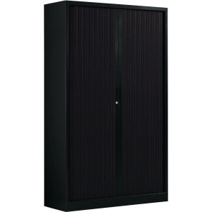 Ariv cupboard 4 shelves 120x198x43 cm black
