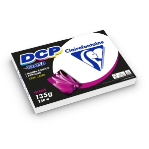 Clairefontaine DCP Coated white paper colourlaser A4 135g - pack of 250 sheets