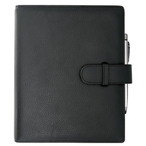 Exatime 21 organiser with cover Cali black