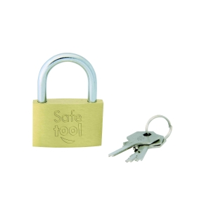 Padlock 40mm with 3 keys
