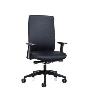 Prosedia Topline 4142 bureaustoel met synchroon contact - zwart