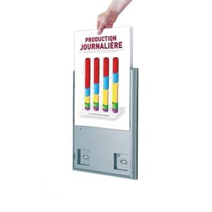 Paperflow 4066 infobord A4 - pak van 4