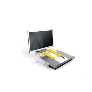 Bakker Elkhuizen Flexdesk 640 document holder in acrylic A3 adjustable height
