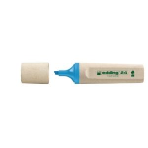 Edding 24 EcoLine markeerstift, blauw, per tekstmarker