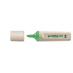 Edding 24 EcoLine markeerstift, groen, per tekstmarker